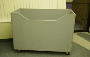 Plastic Moving Bin Bin Rentals Plastic Box Crates Blue